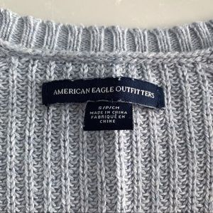 American Eagle Outfitters Sweaters - 🍁BOGO 50%🍁 AE Open Sleeve V-Neck Sweater